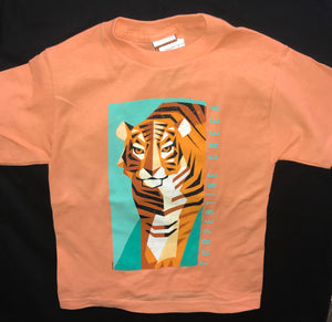 Triangulated Tiger Youth T-shirt