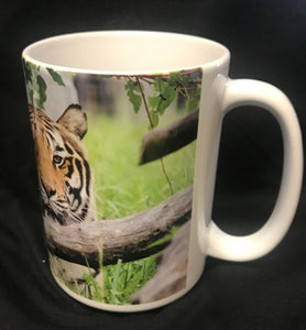 Chuff Tiger Ceramic Mug