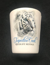 Load image into Gallery viewer, White Tiger Shot Glass