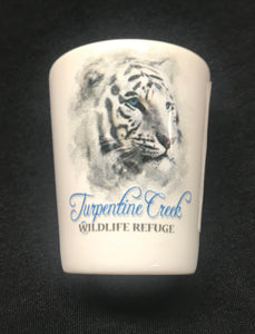 White Tiger Shot Glass
