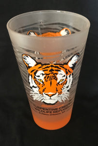Frosted Tiger Pint Glass