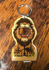 Big Mouth Lion Keychain