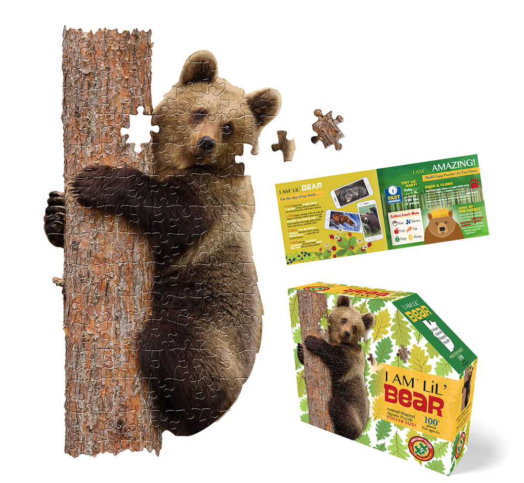 I Am Lil' Bear Puzzle