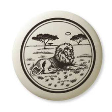 Load image into Gallery viewer, Porcelain Lion Pendant