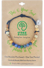 Load image into Gallery viewer, 1 Tree Mission Blue Spruce Bracelet