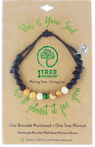 1 Tree Mission Evergreen Bracelet