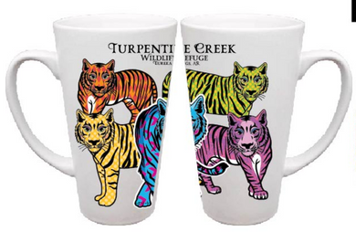 Colorful Tiger Cone Mug