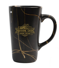 Load image into Gallery viewer, Tiger Art Deco Stoneware Mug