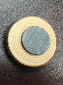 Real Wood Slice Magnet