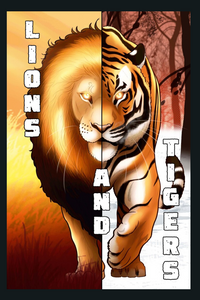 Lions and Tigers Hard Cover Graphic Novel