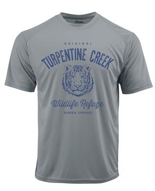 LAST CHANCE!! Moisture Wicking Tiger Face Adult T-shirt