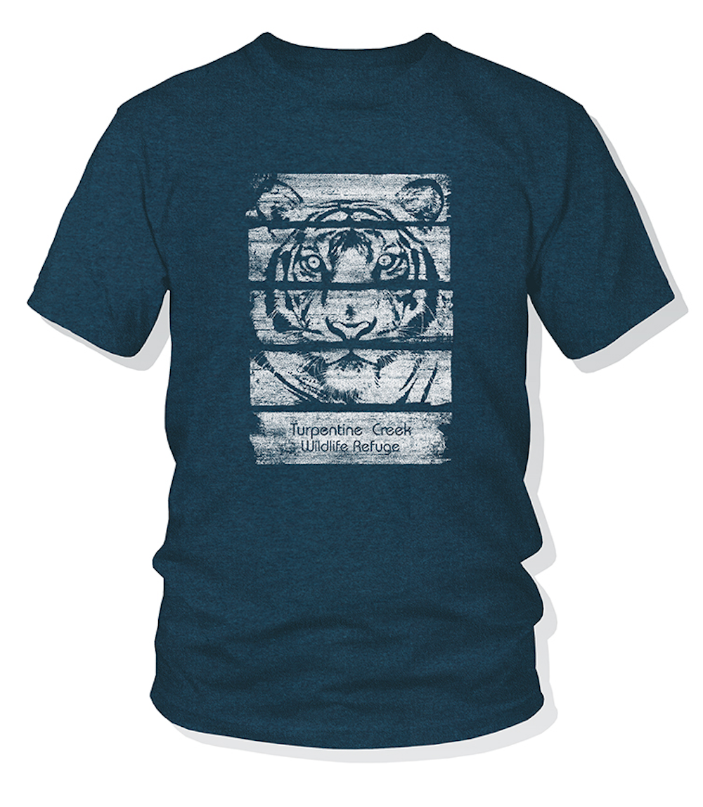 Shutter Tiger Adult T-Shirt