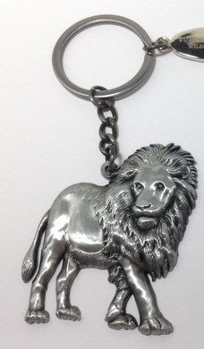 Metal Lion Keychain