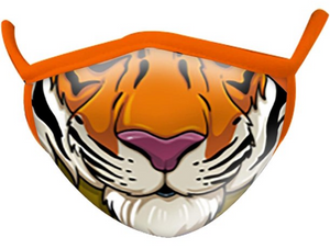 Kids Tiger Face Mask