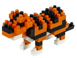 mini block tiger set