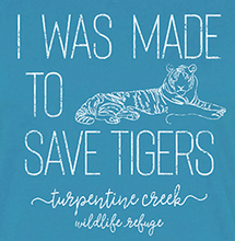 Load image into Gallery viewer, Made to Save Tigers Ladies T-Shirt