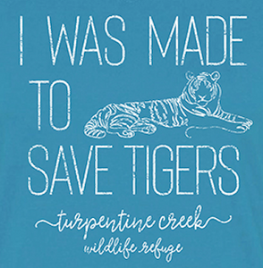 Made to Save Tigers Ladies T-Shirt