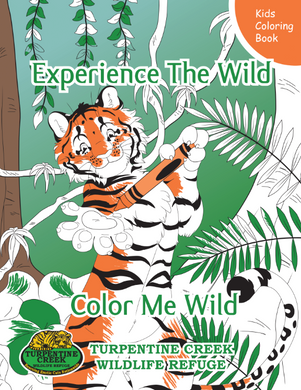 TC the Tiger Coloring Book