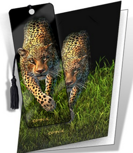 Big Cat Greeting Cards with Surprise