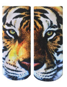 Sublimation Tiger Ankle Socks