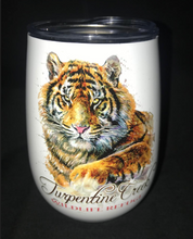 Load image into Gallery viewer, Tiger Gaze Wine Tumbler