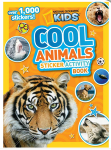 """Cool Animals"" Activity Book"