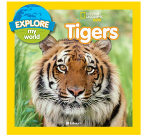 """Explore My World"" Tigers Book"