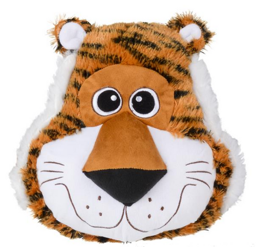 Plush Shaped Tiger Face Pillow