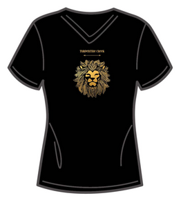 LAST CHANCE!!  Gold Lion Ladies T-shirt