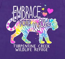 Embrace your Wild Girls T-shirt
