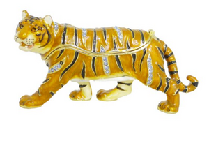 Jeweled Tiger Box