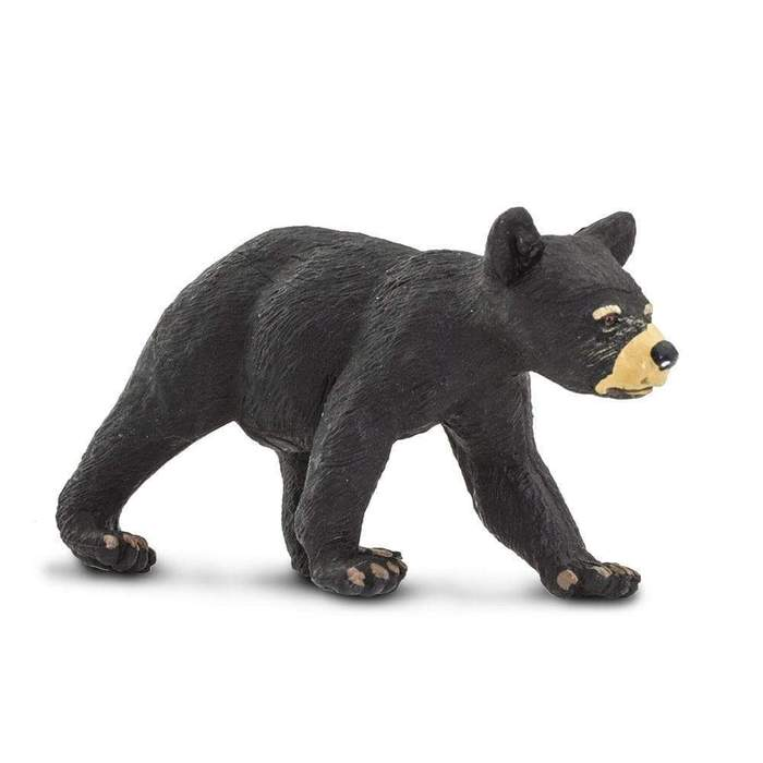 Black Bear Cub Figure