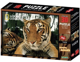 3D National Geographic Tiger puzzle