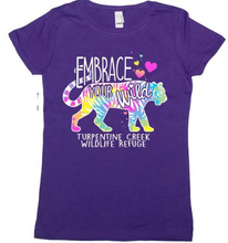 Load image into Gallery viewer, Embrace your Wild Girls T-shirt