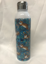 Load image into Gallery viewer, Tigers Having Fun Water Bottle