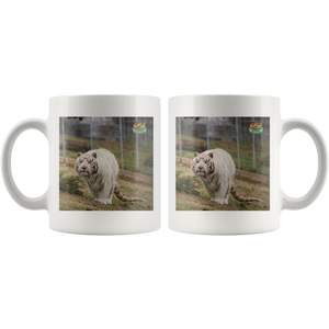 Snowball Tiger Ceramic Mug