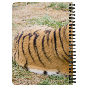 B.B. King Tiger Spiral Notebook