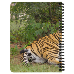 Poncho Tiger Spiral Notebook