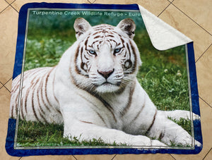 Aurora the Tiger Throw