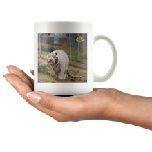 Load image into Gallery viewer, Snowball Tiger Ceramic Mug