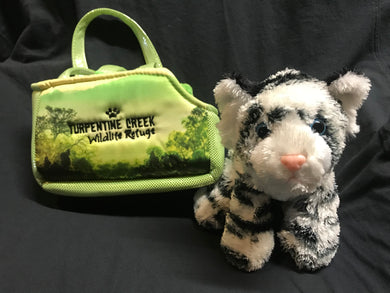 Plush Carrier with Tiger