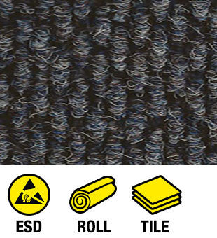 ESD Anti-Static Conductive Roll Carpet and Tile