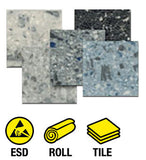 ESD Conductive Euro-Flex Role and Tile