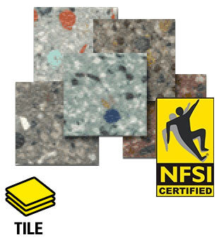 ESD Anti-Static Euro-Flex™ CSD NFSI High Traction Vinyl Tile