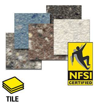 ESD Anti-Static Euro-Flex™ FSD NFSI High Traction Vinyl Tile Flooring