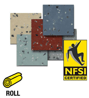 ESD Anti-Static Safefloor Guard NFSI High Traction Vinyl Roll Flooring