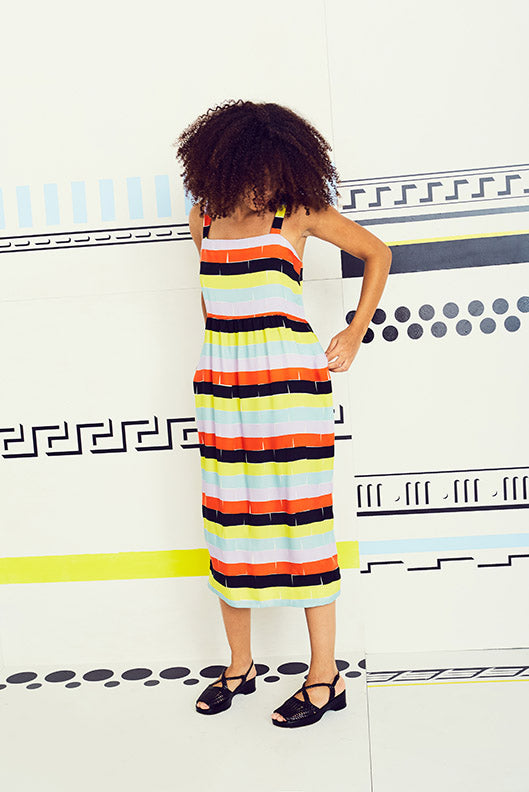 Bricks Level Tank Dress