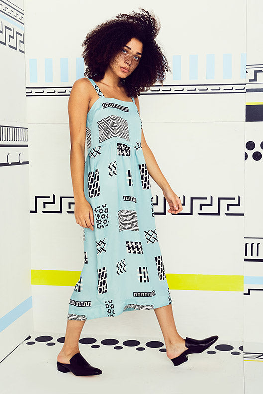 Tile Level Tank Dress