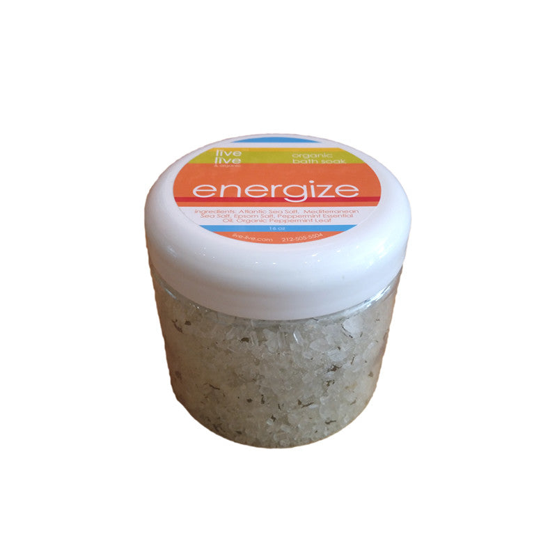 Bath Salts - Energize, Nourish, Relax, Renew