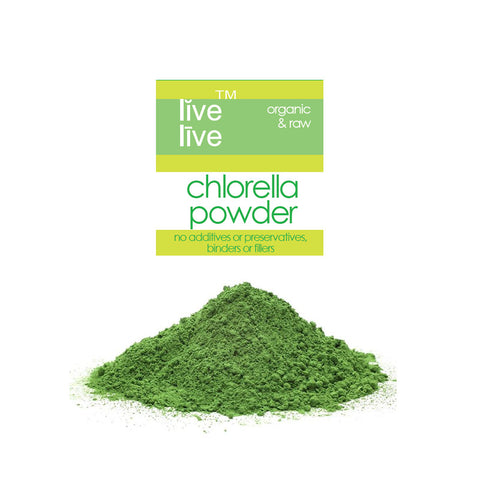 Organic Chlorella Powder, Cracked Cell Wall